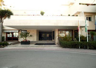 Exteriores Hotel del Golf - Entrada principal - Rotonda 2