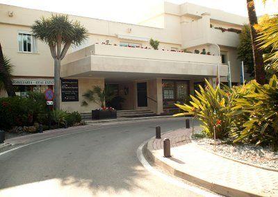 Exteriores Hotel del Golf - Entrada principal - Rotonda