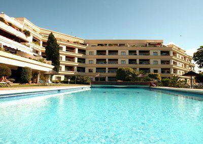 Exteriores Hotel del Golf - Piscina