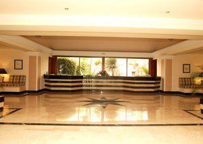 Hotel del Golf - Hall recepcion