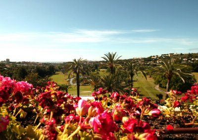 Hotel del Golf - Jardines flores