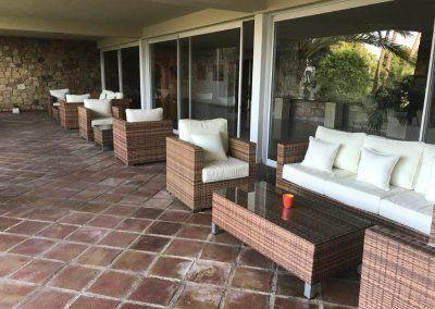 Hotel del Golf - Sillones terraza