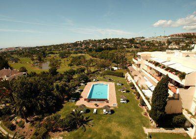 Vista aerea Hotel del Golf